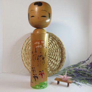 big Japanese kokeshi doll/ kokeshi doll/